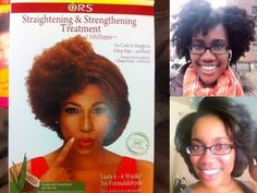 ORS HAIRepair Straightening and Strengthening Treatment: Initial Review - perfect for transitioning hair