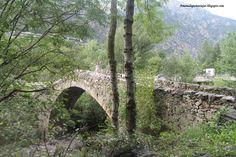 Puente románico medieval