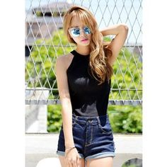 Halter Ribbed Top from #YesStyle <3 DEEPNY YesStyle.com