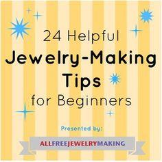 """Jewelry Making for Beginners: 11 Beginner Jewelry Projects"" eBook | AllFreeJewelryMaking.com"