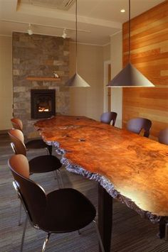 Figured Dining Table