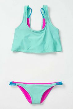 Deux Volley Two-Piece Top