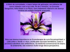 Espiritismo   Curso de Cromoterapia   LILAS