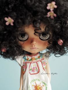OOAK Custom Blythe Doll by Another Blythe QUINCE por AnotherBlythe