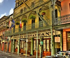 Enjoyed At Least 3 Anniversary Dinners Antoine S Miss This Kind Of Fine Dining New Orleans