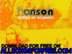hanson - A Minute Without You - Middle Of Nowhere