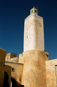 Minaret in the old medina, El Jadida, Morocco