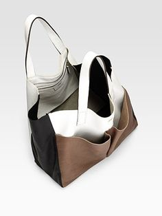 Tri color bag construction/design