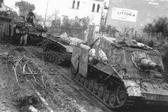 SdKfz 166 Brummbar.№-3 и №-2 III/Pz.Jg.Red.656.06. 1943.