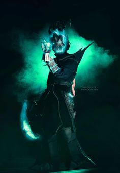 Thresh Cosplay   Mistvein Cosplay   Chain Warden   League of Legends   Cosplay   Picture by: Indy Denys Photography