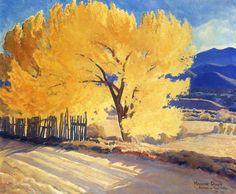 visualartlove:  Maynard Dixon, October Gold _ 1931