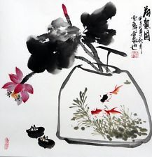 vase ink chinese painting - Buscar con Google