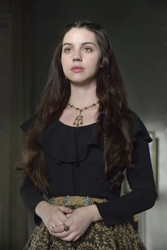 """Reign -- """"No Exit"""" -- Image Number: -- Pictured: Adelaide Kane as Mary, Queen of Scots -- Photo: Ben Mark Holzberg/The CW -- © 2014 The CW Network, LLC. All rights reserved. Reign Mary, Mary Queen Of Scots, Queen Mary, Mary Stuart, Reign Fashion, Fashion Tv, Adelaide Kane, Reign Season 1, Season 2"""
