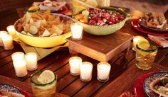 There was no better idea that mojito-taco menu for entertaining. Check out http://cocktailsandjoints.com/drink/mojitos-party.php for some fab ideas to keep your party jumping.