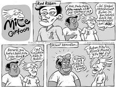 Mice Cartoon: Red Ribbon