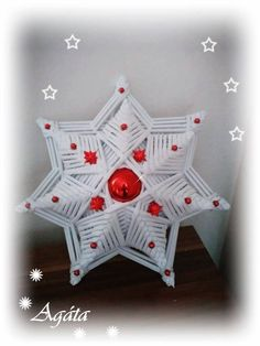Christmas Projects, Holiday Crafts, Christmas Crafts, Christmas Decorations, Holiday Decor, Origami And Kirigami, Origami Art, Diy And Crafts, Paper Crafts