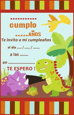 Dinosaur Birthday Party, 30th Birthday, First Birthday Parties, Birthday Party Decorations, First Birthdays, Farm Party Invitations, Borders For Paper, Ideas Para Fiestas, Baby Shower