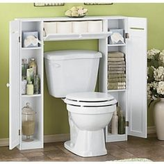 Be Creative in Small Bathroom by Applying Bathroom Spacesaver Cabinet