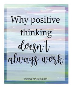 Are you tired of trying to think happy thoughts all the time? Here's the truth: Positive thoughts don't always work. Negative Thoughts, Positive Thoughts, Inner Peace Quotes, Positive Quotes For Women, Tired Of Trying, Stress Quotes, Self Love Affirmations, Think Happy Thoughts, Feeling Hopeless