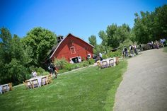 Chatfield Botanic Gardens wedding reception. Denver, Colorado