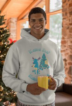 Skiing, Graphic Sweatshirt, Ski