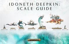 Idoneth Deepkin Model Size Comparison - Faeit 212: Warhammer 40k News and Rumors