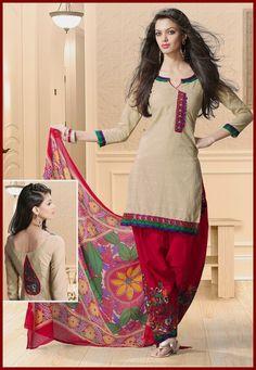Neck Designs For Salwar Suits