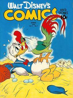 Walt Disney's Comics and Stories (Dell, Apr 1942) #v2#7