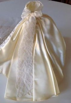 Rare Vintage 1960's Custom Halina's Doll Fashions Chicago Wedding Gown In Box (10/01/2014)