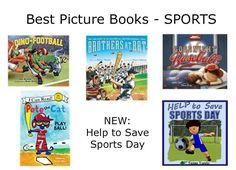 Best Picture Books - SPORTS! New in 2017: Help to Save Sports Day by Tessa Tanda. https://www.amazon.com/Help-Save-Sports-Day-Interactive-ebook/dp/B073PZJKYL/