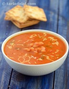 A+spicy+soup+perfect+for+a+winter's+day,+yet+not+to+spicy+that+it+makes+your+eyes+water!+the+chilli+bean+soup+represents+a+delicate+balance+of+tang+and+spice+mellowed+down+with+white+sauce+so+every+mouthful+can+be+relished+thoroughly.+