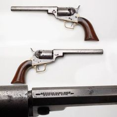 ❦ georgebeast:  Wells Fargo Colt- .31 caliber percussion revolver