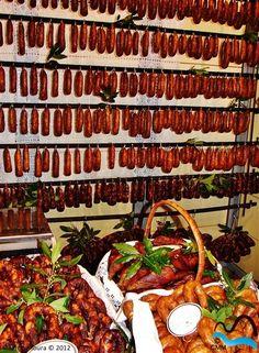 Feira do Fumeiro de Montalegre - Sausage Festival in Montalegre, Porto and North of Portugal, Portugal