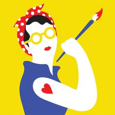 In conversation with… Olimpia Zagnoli | Polpettas Mag #yellow #illustration #olimpiazagnoli