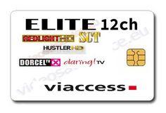 Perfect Abbonamento Elite HD 12 Canali Card Viaccess 1 Anno Dorcel Tv HD, Redlight  HD,