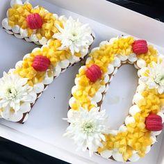Brithday Cake, Cupcake Birthday Cake, Cupcake Cakes, Bolo Floral, Floral Cake, Alphabet Cake, Monogram Cake, Biscuit Cake, Number Cakes
