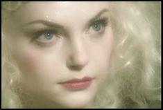 She reminds me of a fairy. I like magical makeup.