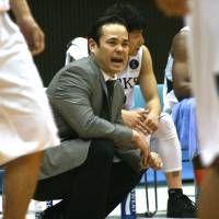 New era: Hyogo Storks head coach Danny Yoshikawa is among the NBL's new foreign bench bosses this season.    KAZ NAGATSUKA