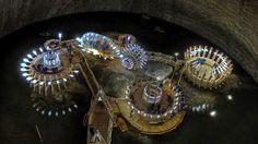 Old Romania Salt Mines Converted Into 370ft Deep Museum - My Modern Metropolis