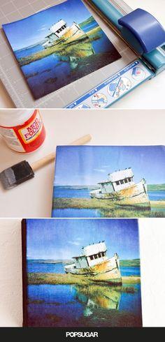 Stretch Your Dollar: DIY Instagram Canvas Prints