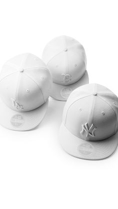c04aba26b11ff Introducing the newest summer style- New Era MLB All White Collection.  Exclusively available at