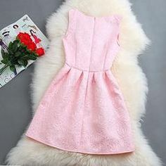 Elegant Floral Crochet Pleated Women Mini Dress - Daisy Dress For Less - 6