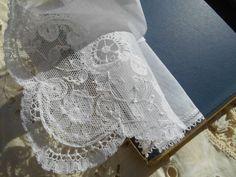 Brugge Lace Handkerchief Unused in its Box by SophieLadyDeParis