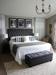 Master Bedroom Colour Schemes Main Paint Color Options Suitable For The Master Bedroom. Tuscan Interior Paint Colors You Ever Played Around . Good Master Bedroom Decorating Ideas Wearefound Home Design. Home and Family Chic Master Bedroom, Master Bedroom Design, Dream Bedroom, Home Bedroom, Bedroom Designs, Master Bedrooms, Bedroom Apartment, Girls Bedroom, Stylish Bedroom