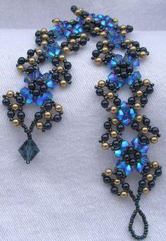 Triangle weave bracelet!