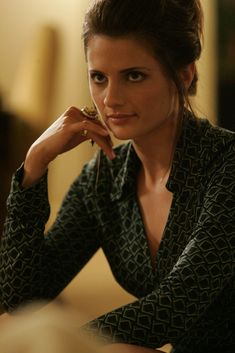 Stana Katic as Collette Stenger Stana Katic, Better Half, How To Look Better, 26 Avril, Castle Beckett, O Brian, Women Names, Great Tv Shows, Celebrity Beauty