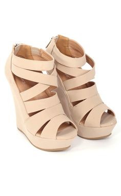 I've been looking for versatile wedges and these would be perfect! #ShopRiffRaff #RiffraffLove #DreamCloset