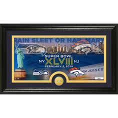 Seattle Seahawks Panoramic Picture Deluxe Matted Frame | Panoramic ...