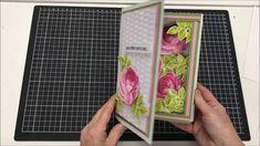 3D SHADOW BOX BOOK BOX CARD TUTORIAL