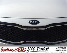 Congratulations to Kevin Black on your #Kia #Optima purchase from Clinton Miller at Southwest Kia Mesquite! #NewCar